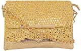 Elde Fashions Sling Bag - Gold, FX32