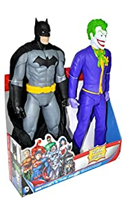 "DC Universe 20"" Figures Batman and Joker Action Figure"