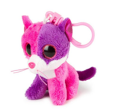 Ty Beanie Boos Pellie - Cat Clip (Claire's Exclusive)