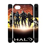 Unique Design Master Chief Halo iPhone 4 4S Dual-protective Polymer Case Cover at Goodcase