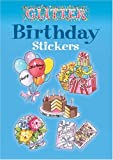Glitter Birthday Stickers (Dover Stickers)