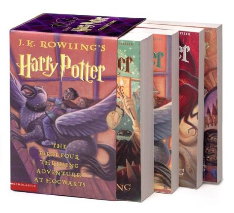 Harry Potter Boxset 1-4 by J. K. Rowling