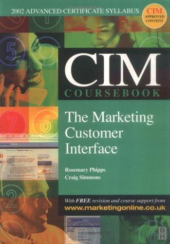 Cim Coursebook 02/03 Marketing Customer Interface