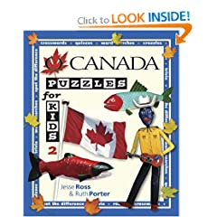 O Canada Puzzles for Kids 2 by The Puzzling Sports Institute