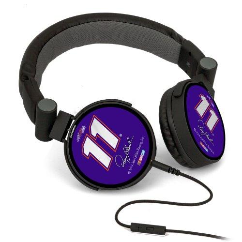 Nascar Denny Hamlin 11 Fedex Express Dj Style Headphones