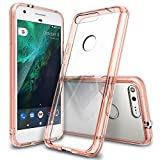 Google-Pixel-XL-Case-Ringke-FUSION-Crystal-Clear-PC-Back-TPU-Bumper-Drop-ProtectionShock-Absorption-Technology-Raised-Bezels-Protective-Cover-For-Google-Pixel-XL-2016-Rose-Gold-Crystal