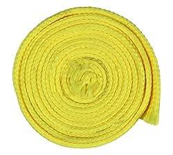 Sri Vaari Lace Yellow Polyester Shoe Lace