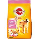 Pedigree Puppy Dog Food Chicken And Milk, 3 Kg