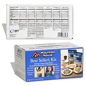 Mountain House® Best Sellers Kit