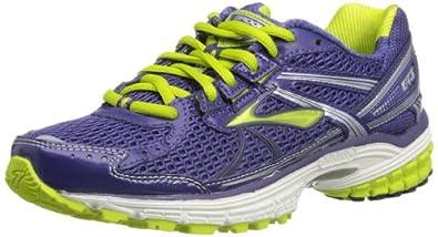 Brooks Womens Adrenaline GTS 13 W Running Shoes 1201231B863 Deep Wisteria/Lime/Silver/White/Black/Lunar Rock 3 UK, 35.5 EU, 5 US