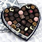Rococo Heart Box no. 3 with mixed chocolates