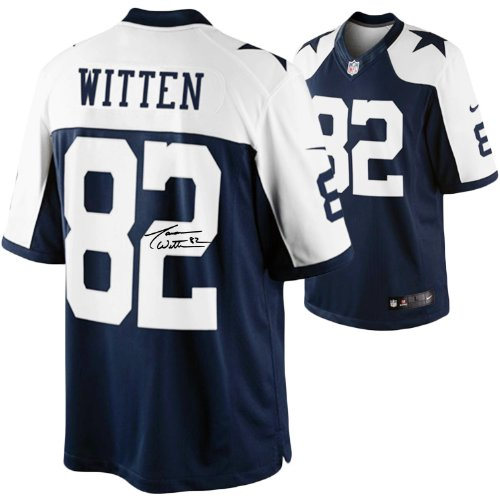 Jason Witten Dallas Cowboys Autographed Nike Limited Throwback Jersey - Mounted Memories Certified - Autographed NFL Jerseys at Amazon.com