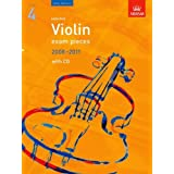 Selected Violin Exam Pieces 2008-2011, Grade 4, Score, Part & CD: Grade 4 Score, Part and CD (ABRSM Exam Pieces)by Edward Huws Jones
