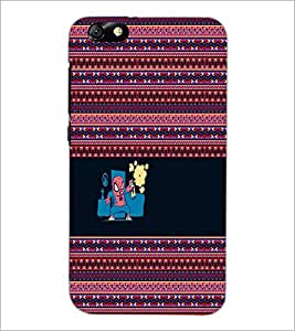 PrintDhaba Funny image D-5054 Back Case Cover for HUAWEI HONOR 4X (Multi-Coloured)