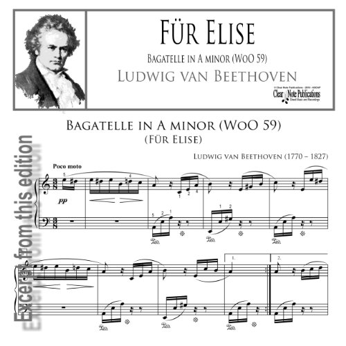 Fur Elise By Beethoven For Beginners Music For Music: #CHEAP Für Elise (for Solo Piano)