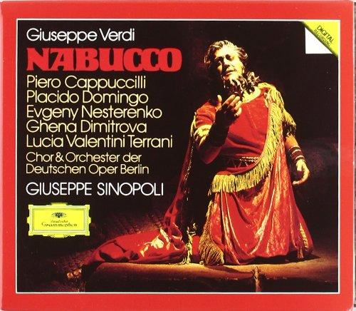 Nabucco (Cappuccilli-Dimitrova-Sinopoli- Domingo) - Verdi - CD