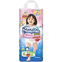 MamyPoko Pants Airfit Extra Large Premium Diapers for Girls (Pink, 38 Count)