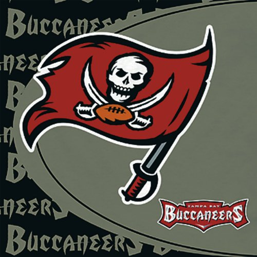 Hallmark 233285 Tampa Bay Buccaneers Lunch Napkins - 1