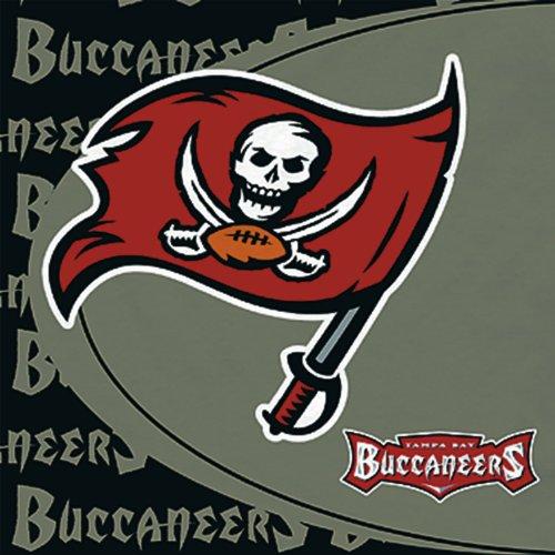 Hallmark 233285 Tampa Bay Buccaneers Lunch Napkins - 1