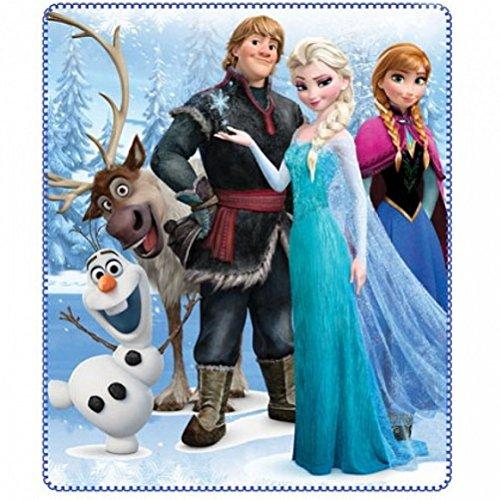 Coperta Plaid in pile Disney Frozen principesse 120X140 cm. *00897