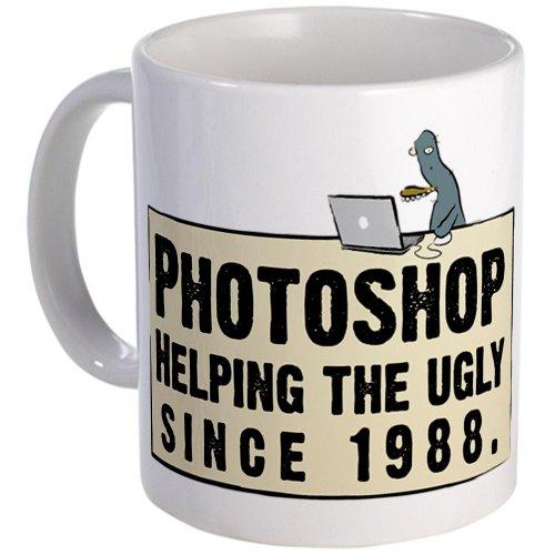 Photoshop - Helping The Ugly Mug Mug By Cafepress