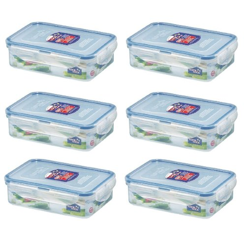 6-x-lock-lock-food-storage-550ml-rectangular-box-hpl815