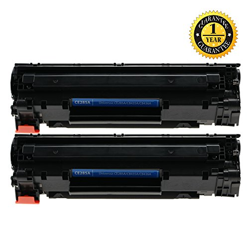 INK E-SALE Black Cartridge CE285A (85A) Laser Toner Compatible for HP LaserJet Pro P1102w, M1212nf – 2 Pack
