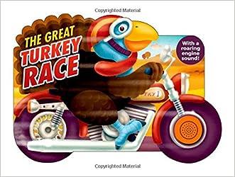The Great Turkey Race (Shaped Board Books)