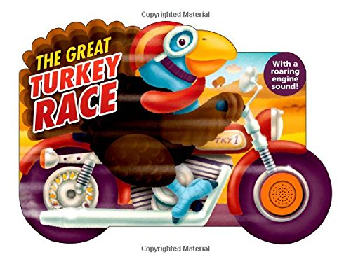 The Great Turkey Race (Shaped Board Books) front-447077