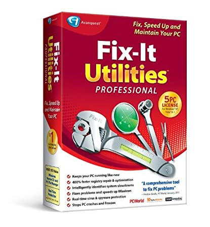 Fix-It Utilities 12 Professional