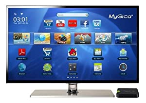 MyGica ATV520 Dual-Core TV Box with Android 4.1 OS NetFlix XBMC Apps - Turn HDTV to Smart TV