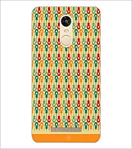 PrintDhaba Pattern D-1624 Back Case Cover for XIAOMI REDMI NOTE 3 PRO (Multi-Coloured)