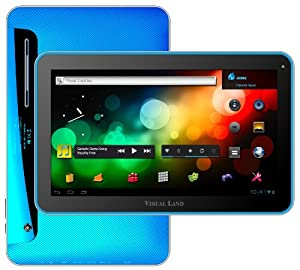 Visual Land Prestige 10-Inch Tablet with 16GB Memory (Blue)