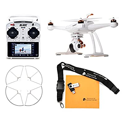 Blade Chroma Flight-Ready Drone with C-GO2+ 16 MP 1080p/60 3-Axis Stabilized Camera, ST-10+ Transmitter, and Prop Guard