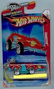 Hot Wheels 2010-185/240 Race World Underground 01/04 Fangster Keys to Speed Instant Win Card W/KeyChain 1:64 Scale