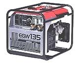 新ダイワ エンジン溶接機 EGW135 小型・軽量発電機ウエルダー