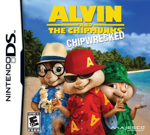 Alvin and the Chipmunks: Chipwrecked - Nintendo DS - 1