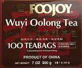 Foojoy Wuyi Mtn. Oolong (Wu Long) Weight Loss Tea 100 Tea Bags,NET WEIGHT 7 OZ.