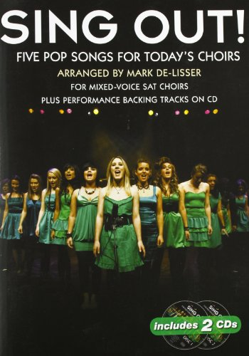 Sing Out! 5 Pop Songs for Today'S Choirs Book 1 2 CD