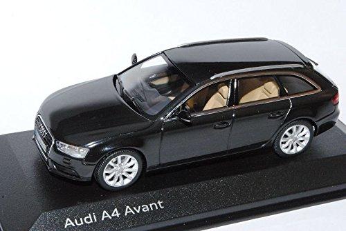 Audi-A4-B8-Facelift-Ab-2011-Avant-Kombi-Phantom-Schwarz-Ab-2007-143-Minichamps-Modell-Auto