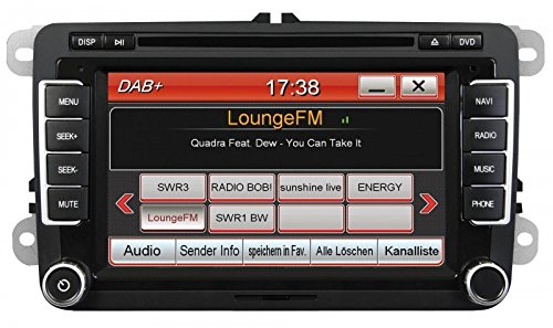 ESX-VNC710-VW-U1-DAB-Naviceiver-Fahrzeugspezifischer-Autoradio-fr-VW-Seat-Skoda