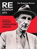 Re/Search #4/5: Burroughs, Gysin, Throbbing Gristle