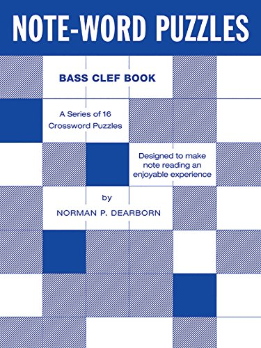Note-Word Puzzles: Bass Clef PDF