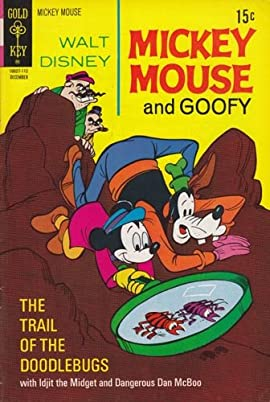 Mickey Mouse #133 Back Issue Comic Book (Dec 1971) Fine -