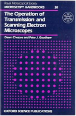 Operation Of Transmission & Scanninig Electron Microscope (Microscopy Handbooks)