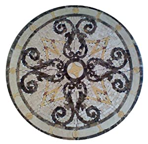 Tile Floor Medallion Marble Mosaic Mini Mosaic Design 42 Amazon