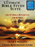 img - for Ultimate Bible Study Suite; KJV Bible (Red Letter), Hebrew/Greek Dictionaries and Concordance, Easton's & Smith's Bible Dictionaries, Nave's Topical Guide, (1 Million Links) book / textbook / text book