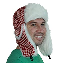 Red and White Christmas Hat by Tipsy Elves