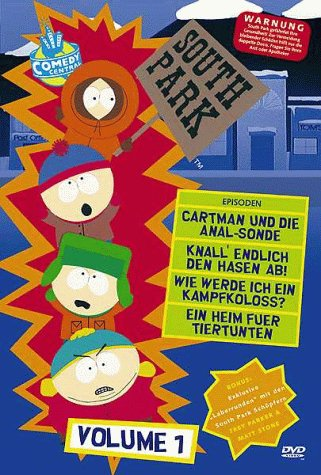 South Park DVD-Volume 01 1. Staffel