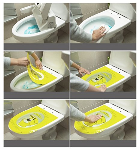 pongtu toilet disposable sticker plunger 2sheets hygienic strength no dirty hardware plumbing. Black Bedroom Furniture Sets. Home Design Ideas
